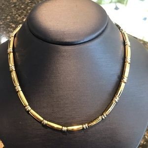 14KT. Yellow/White Gold Necklace